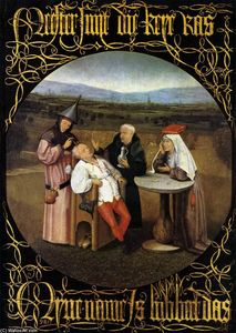 Hieronymus Bosch - The Cure of Folly (Extraction of the Stone of Madness)