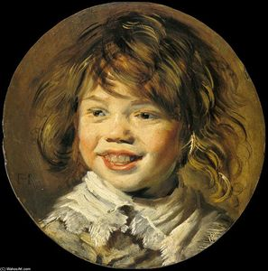 Frans Hals - Laughing Child