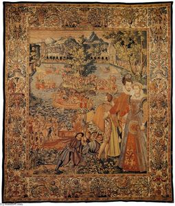 François Spiering - Valois Tapestries: Festival on the Water
