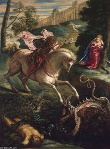 Tintoretto (Jacopo Comin) - St George