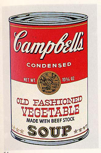 famous painting Old Fashioned Vegetable of Andy Warhol