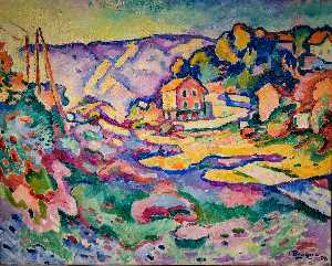 Georges Braque - L'Estaque