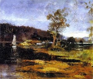 Charles Edward Conder - Low Tide, Hawkesbury River