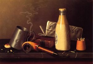 William Michael Harnett - Materials for a Leisure Hour