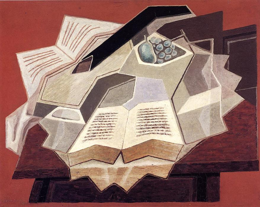 famous painting The Open Book of Juan Gris