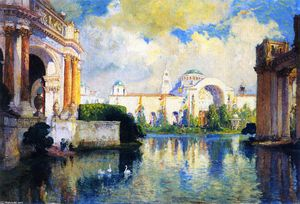 Colin Campbell Cooper - Panama-Pacific Exposition Building