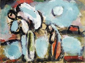 Georges Rouault - Peasant with Double Sack