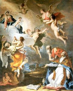 Sebastiano Ricci - Pope Gregory the Great Saving the Souls of Purgatory