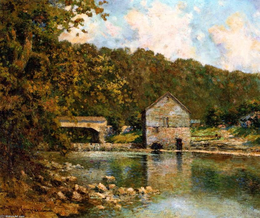 famous painting Rivermill of Paul Sawyier