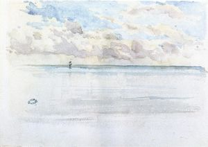 James Abbott Mcneill Whistler - Seascape, Dieppe