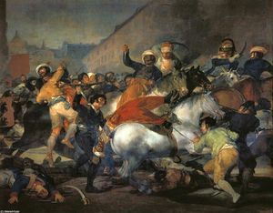 Francisco De Goya - The Second of May 1808