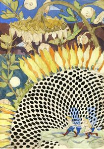Charles Ephraim Burchfield - Sunflower