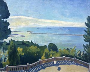 Albert Marquet - The Terrace at l'Estaque