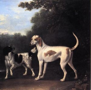 John Wootton - Two of the Duchess of Marlborough's Dogs