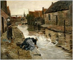 Frits Thaulow - Untitled