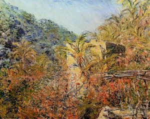 Claude Monet - The Valley of Sasso, Sunshine