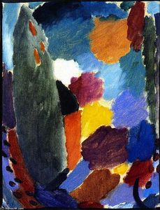 Alexej Georgewitsch Von Jawlensky - Variation: Grey Day