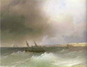 Ivan Aivazovsky - View of Odessa