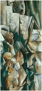Georges Braque - Violin and Palette