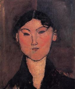 Amedeo Modigliani - Woman's Head (also known as Rosalia)