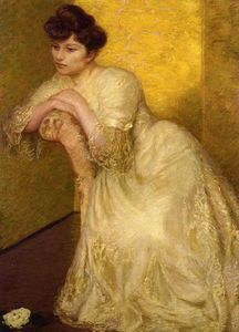 Lilla Cabot Perry - The Yellow Screen