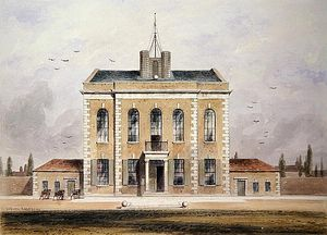 Thomas Hosmer Shepherd - The Armoury Belonging To The Royal Artillery Company