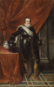 Toussaint Dubreuil - Henri Iv, King Of France And Navarre