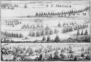 Romeyn De Hooghe - Piction Of The Battle Of Öland