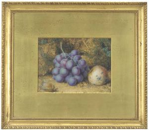 William Hough - Grapes, Crab-apple And A Chestnut