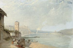 James Baker Pyne - On The Rhine