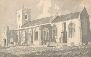 John Sell Cotman - South Side Of Catfield Church, Norfolk
