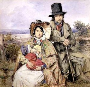 Octavius Oakley - Country Family Of Emigrants