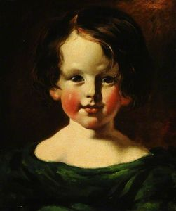 William Etty - Head Of A Girl
