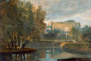 William Havell - Reading Abbey, Berkshire