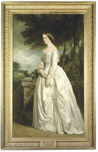 Francis Grant - Portrait Of Louisa Madeleine Keith-falconer