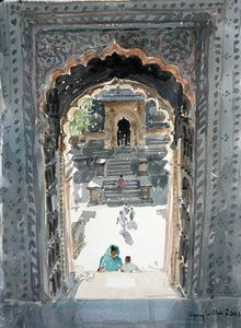 Lucy Willis - The Maheshwar Temple