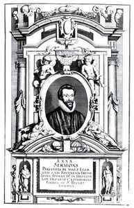 Matthäus The Younger Merian - Frontispiece To 'eighty Sermons Preached By That Learned And