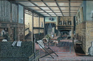 Henry Robert Robertson - The Interior Of Hall Place