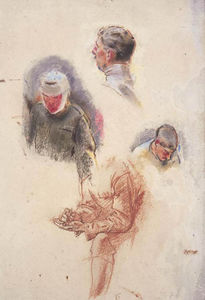 Henry Tonks - Study For 'an Advanced Dressing