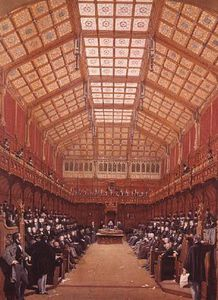 Joseph Nash - Interior Of The House Of Commons