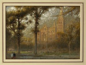 Albert Goodwin - Salisbury Cathedral