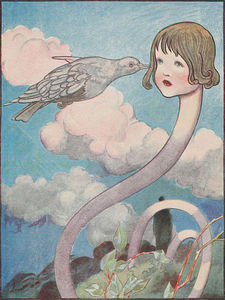 Charles Robinson - A Large Pigeon Had Flown Into Her Face