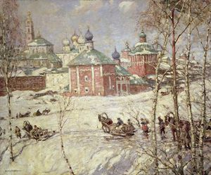 Frederick William Jackson - The Kremlin