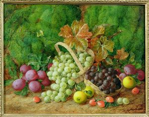 George Clare - Still Life With Fruits