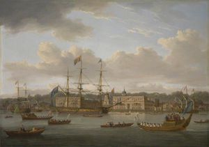 William Anderson - The Return Of George Iv To Greenwich From Scotland