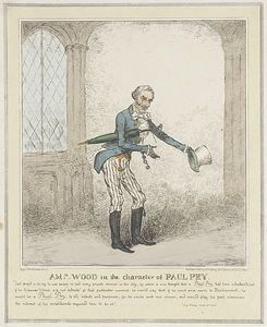 Isaac Robert Cruikshank - Ald Wood In The Character Of Paul