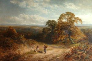 George Turner - A Lane In Surrey