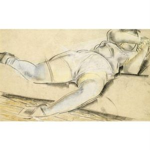 Boris Dmitrievich Grigoriev - Erotic Drawings