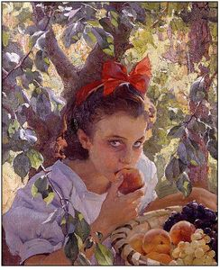Francisco Pons Arnau - Eating Fruit
