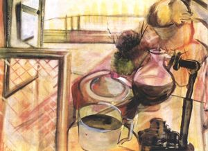 Istvan Farkas - Still-life With Coffee-maker